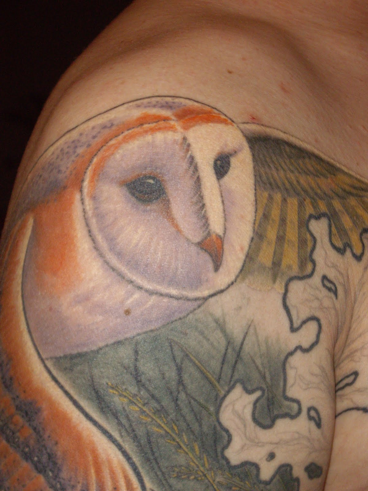 Barn Owl Tattoo Designs