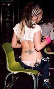 Cheryl Tweedy tattoo