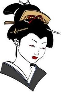 Beautiful Japanese Geisha Tattoos Design 6