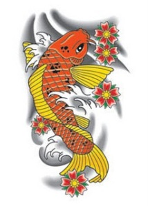 Beautiful Japanese Koi Fish Tattoo Designs 3