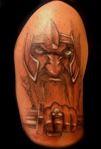 Viking tattoos belong to this group as well. They open a door to the world