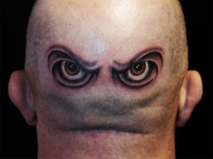 Marvin Martian Eyes Tattoo. via tattoo.about.com