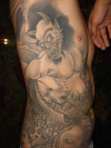Top of Tattoo Art: Demon Tattoos