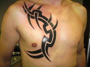 Tribal Tattoo Art on Body