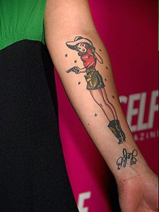 Phil Young - Military Pin Up Girl Large Image Leave Comment. Tattoos