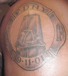 Go Back to 9-11 Memorial Tattoo Article FDNY 911 tattoo.