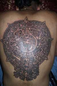 Aztec tattoos were an art form that held great importance in their culture.