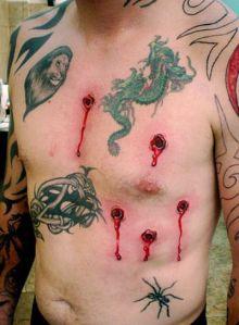 ugly stupid tattoo.