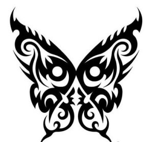 butterfly tribal tattoo designs 1 butterfly tribal tattoo designs