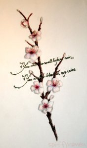 Amazing Japanese Cherry Blossom Tattoo Designs Picture 7