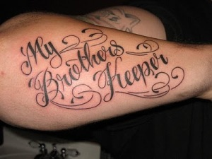 "Tattoo Fonts Old English on Back Body Tattoo Fonts Script "" Hand Tattoos"