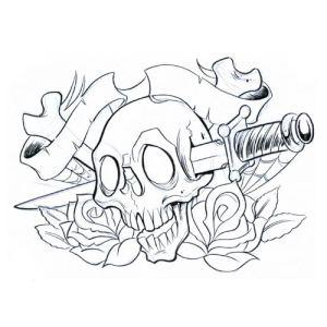 Peafowl Animal Tattoo Design for Women.