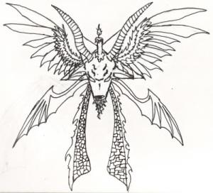 White Dragon Sigil Tattoo Design · tattoo designs Tattoo dragon head design