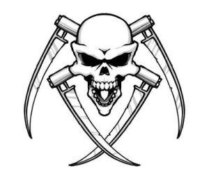 Evil Tattoo, Skull Tattoo, Tattoo Design, Dragon Tattoo, frighten Tattoo.