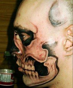 Star Trek Movie - Romulan Facial Tattoos - How Movie Tattoos are Made