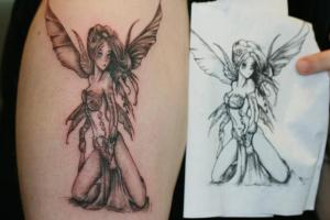 Fairy Wings Tattoo Gallery Pictures 2