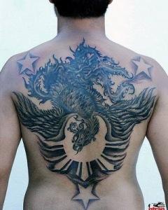 cool back tattoos for men shoulder tattoo designs