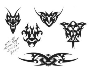 Tribal horoscope tattoos - Aries Zodiac Sign Tattoo Design