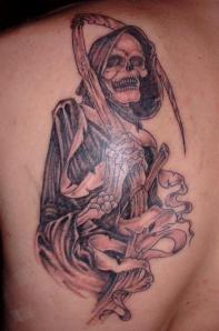 Ash from Evil Dead Tattoo