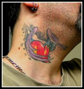 Labels: heart tattoo, neck tattoos, tattoos for men, wings tattoo designs