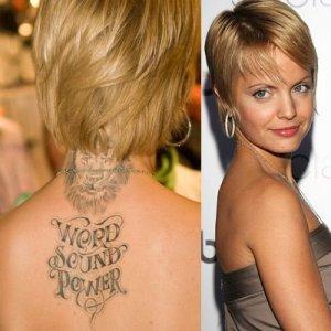Hollywood Celebrities Tattoos