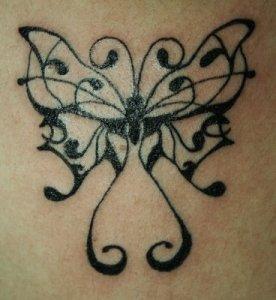 TATTOO: estrellas. Estrellas: Fotos de tatuajes de Estrellas Una flor