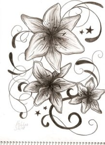 """Butterfly Tattoos on Back """" Tattoo For Girls """" tattoo designs of stars"""