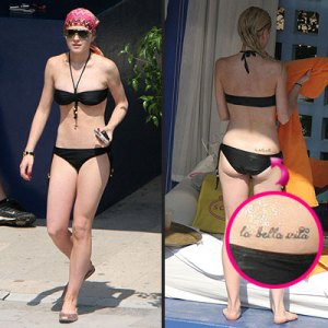 Lily Allen copies Rihanna's Shhh tattoo - Page 2 - Gossip Rocks Forum