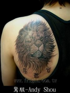 lifter · Oldsmobile · Imperial Gaurdian Lion (Foo Dog) Tattoo