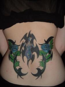 Tribal Tattoo Roses