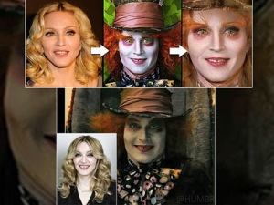 Madonna Does The Mad Hatter - Or Is It The Other Way Around?