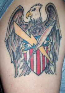 American flag and army tattoo. Tattoos, Tattoo Designs & Local Tattooists: