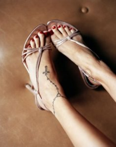 There are several great reasons for a woman to get an ankle tattoo inked.