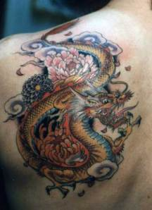 Japanese Koi Fish Tattoos, Traditional Japanese Dragon Tattoos