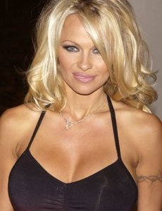 Tattoo Tags: Female Tattoos, Models, Movie Stars, Pamela Anderson