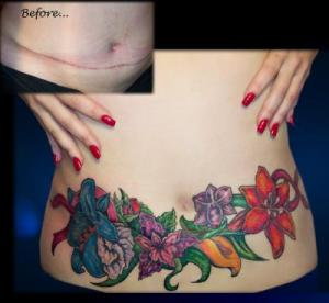 usual preferences for female tattoos are butterfly and flower tattoos.