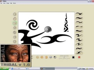 Tribal tattoo designer 1.6 indir csoyuncu