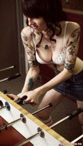 full body tattoo sexy girls