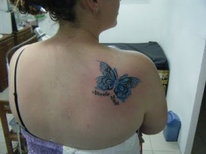 Simple Butterfly Tattoo Designs