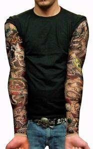 shock your spouse, or co-workers with our new tattoo sleeves. Sleeve Tattoos