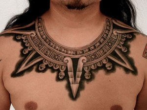 Maya Necklace Tattoo