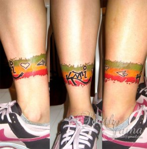 Marcadores: South Gama, tag, tag reggae, tattoo, tatuagem