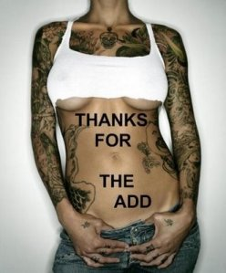 side when the girls wear. Bring Back side body tattoos.