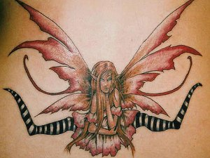 Sexy Lower Back Tattoos Butterfly In Sexy Woman Photos