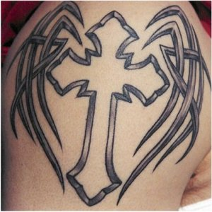 Tattoos Designs Crosses New Ideas