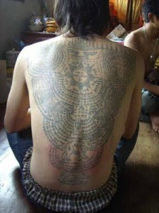 Cambodian Soldiers Use Tattoos To Protect Them From Bullets [ and so are